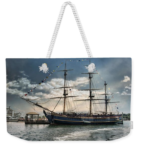 Hms Bounty Newport Weekender Tote Bag