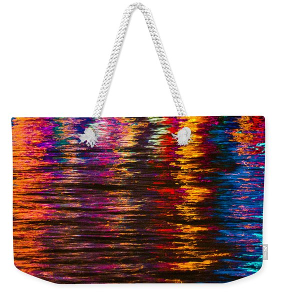 Holiday Reflections Weekender Tote Bag