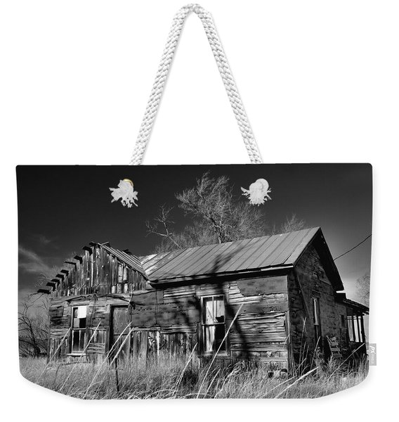 Weekender Tote Bag featuring the photograph Homestead by Ron Cline