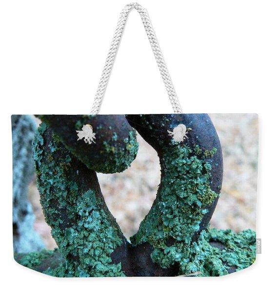 Hooked On Rust Weekender Tote Bag