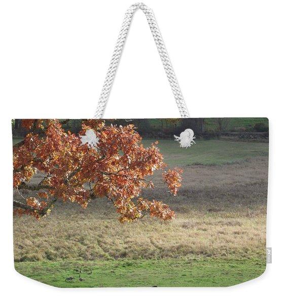 Horse Barn Hill Pasture Weekender Tote Bag