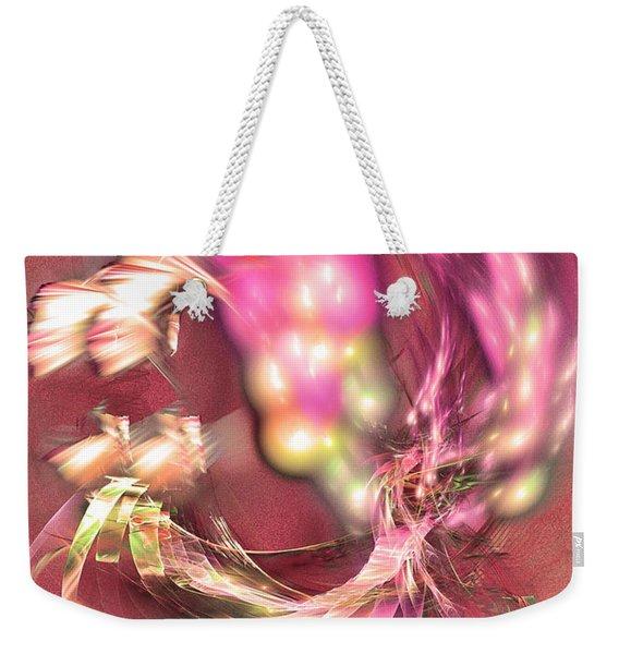 Hot Season - Abstract Art Weekender Tote Bag