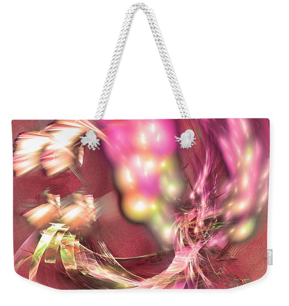 Hot Season - Abstract Art Weekender Tote Bag