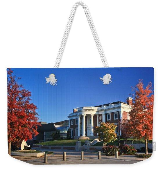 Hunter Museum In Autumn Weekender Tote Bag