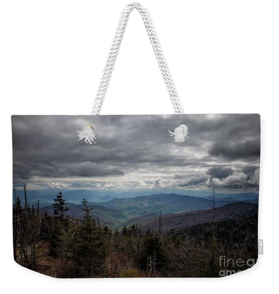 I Can See For Miles Weekender Tote Bag