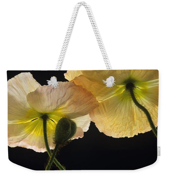 Iceland Poppies 2 Weekender Tote Bag