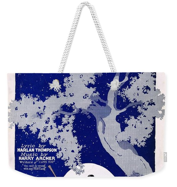I'd Rather Be The Girl In You Arms Weekender Tote Bag