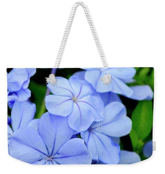 Imperial Blue Weekender Tote Bag