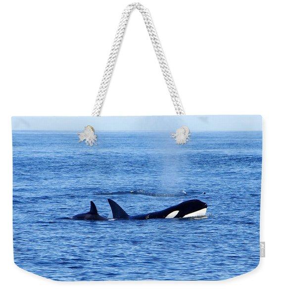 In The Great Wide Ocean Weekender Tote Bag