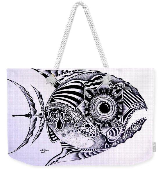 Incomplete Anger Weekender Tote Bag
