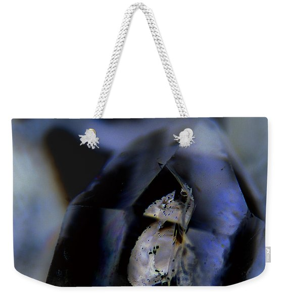 Indigo Quartz Crystal Weekender Tote Bag