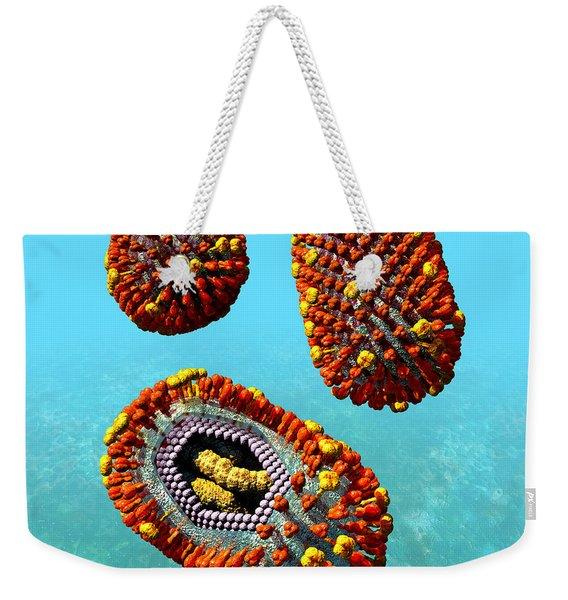Influenza Virus Scene 1 Weekender Tote Bag