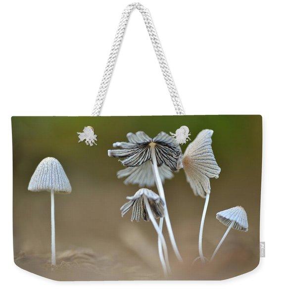 Ink-cap Mushrooms Weekender Tote Bag
