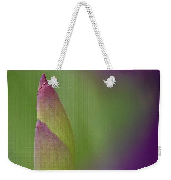 Iris-istible 1 Weekender Tote Bag
