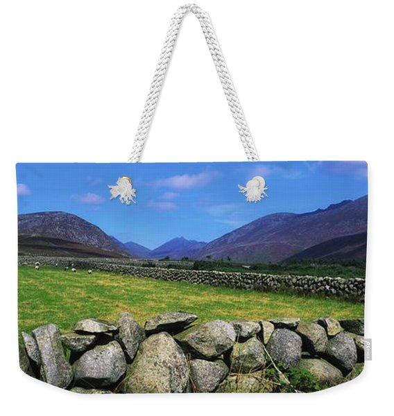 Irish Snow Scenes, Co Wicklow Weekender Tote Bag