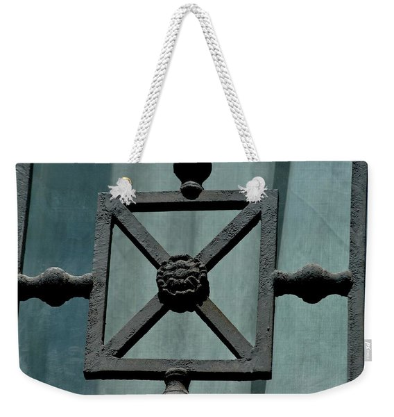 Iron Work Weekender Tote Bag