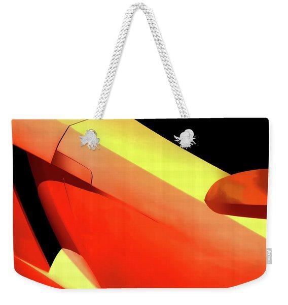 Italian Abstract Weekender Tote Bag