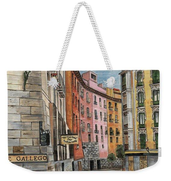 Italian Village 2 Weekender Tote Bag