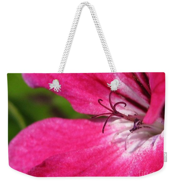 Ivy Leaf Geranium From The Summer Showers Mix Weekender Tote Bag