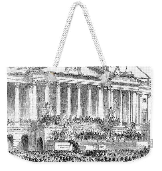 James Buchanan, 1857 Weekender Tote Bag