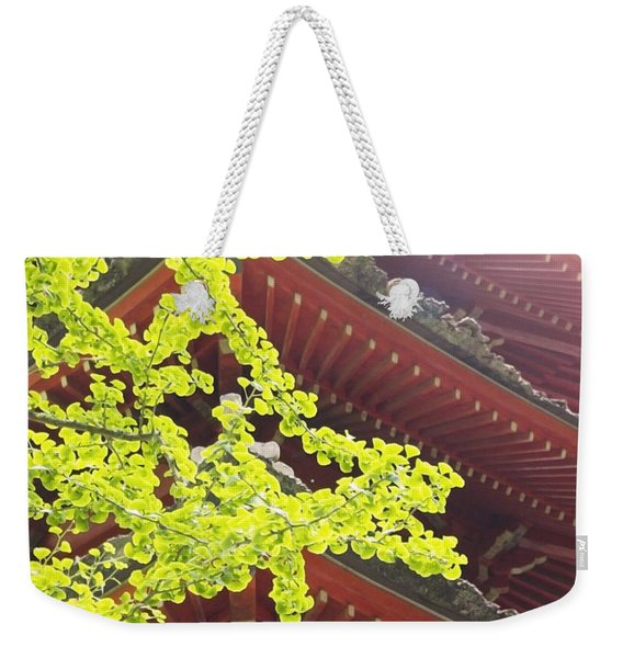 Japanese Tea Garden Weekender Tote Bag