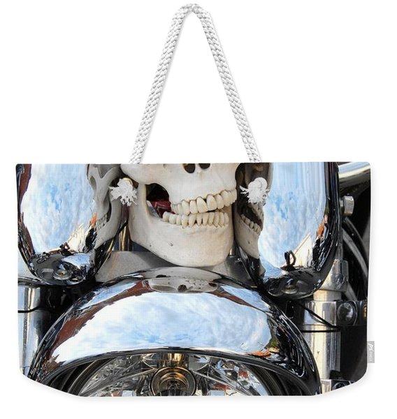 Jimmy Bones Weekender Tote Bag