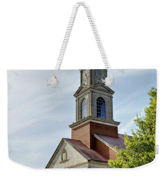 John Wesley Raley Chapel Weekender Tote Bag