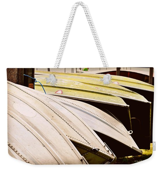Jon Boats Weekender Tote Bag