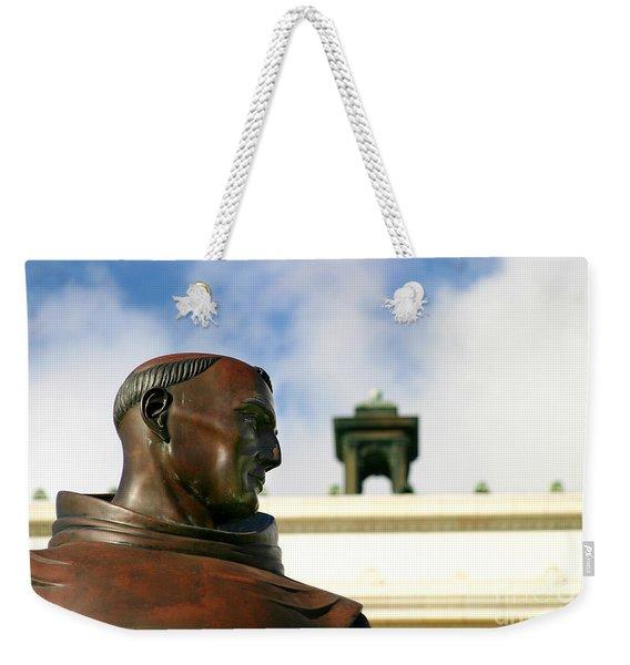 Junipero Serra Weekender Tote Bag