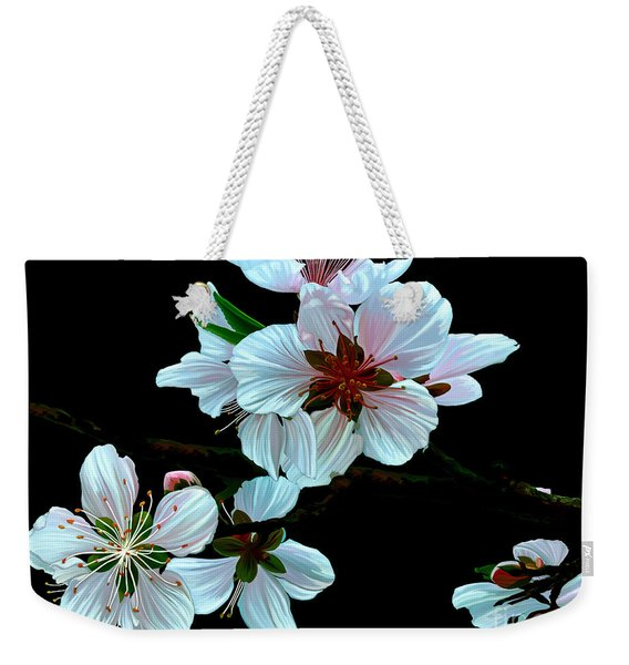 Just Peachy Weekender Tote Bag