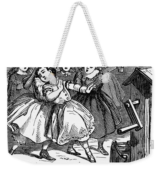 Juvenile Crime, 1868 Weekender Tote Bag