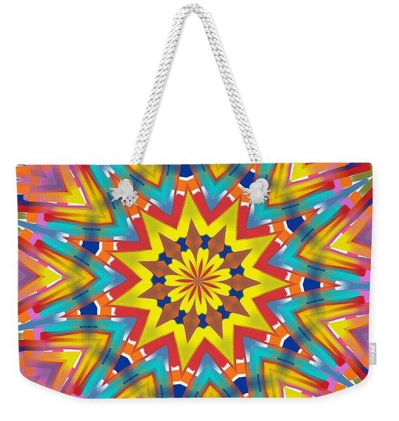 Kaleidoscope Series Number 7 Weekender Tote Bag