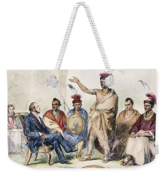 Kaw Delegation, 1857 Weekender Tote Bag