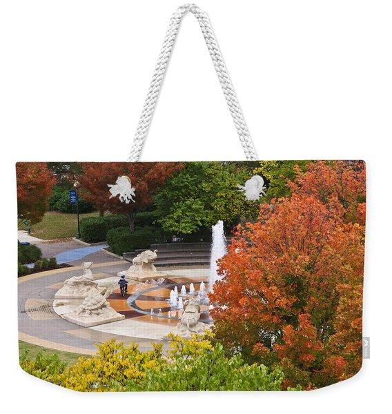 Keeping Dry Weekender Tote Bag