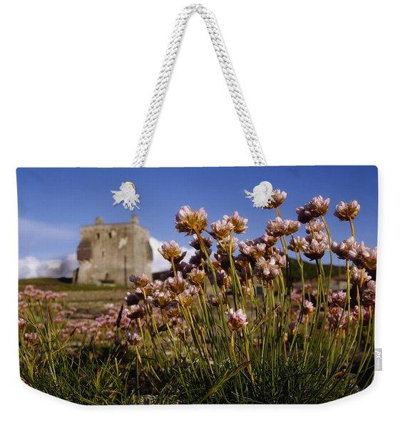 Kildownet Castle, Achill Island, Co Weekender Tote Bag