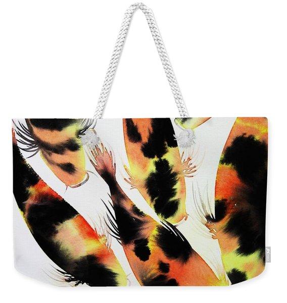 Koi Action Weekender Tote Bag