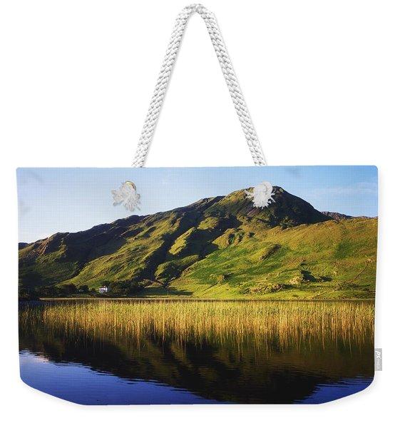 Kylemore Lake, Co Galway, Ireland Lake Weekender Tote Bag