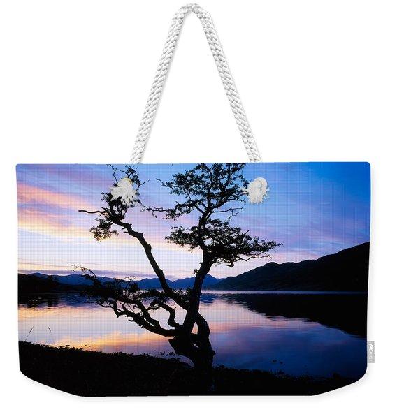 Kylemore Lake, Connemara, Co Galway Weekender Tote Bag