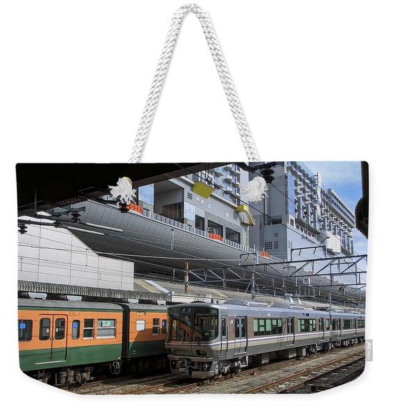 Kyoto Main Train Station - Japan Weekender Tote Bag