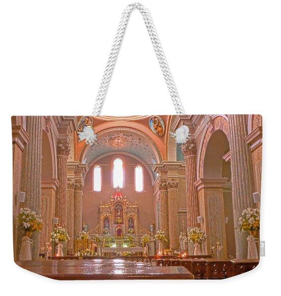 La Iglesia Matriz De Sangolqui Ecuador Weekender Tote Bag