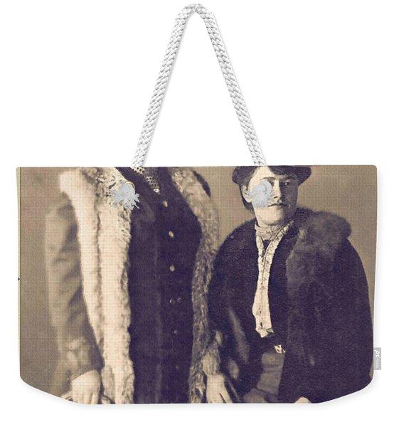 Ladies Of Fashion Weekender Tote Bag