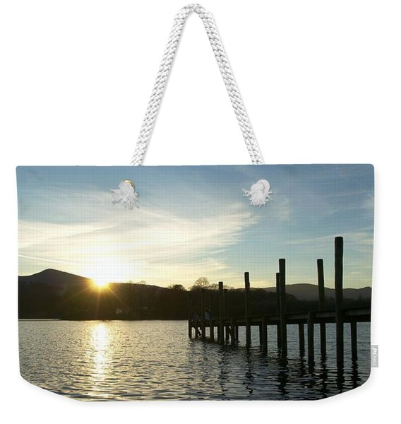 Lake District Sunset Weekender Tote Bag
