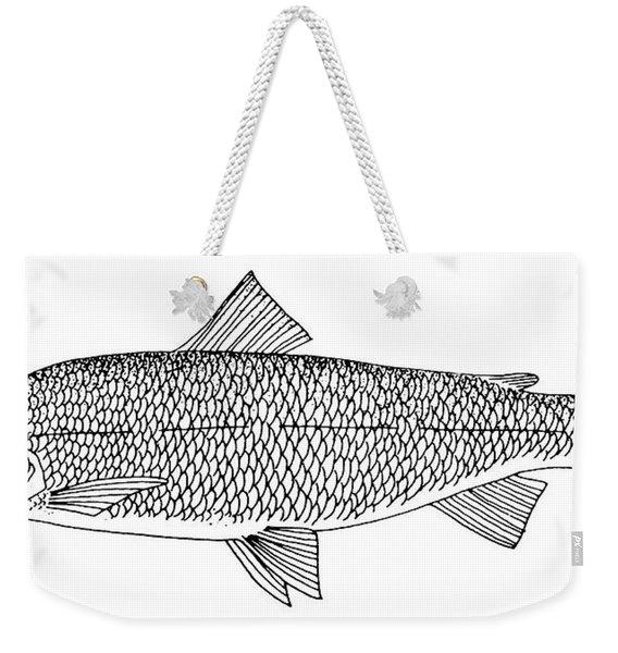 Lake Whitefish Weekender Tote Bag