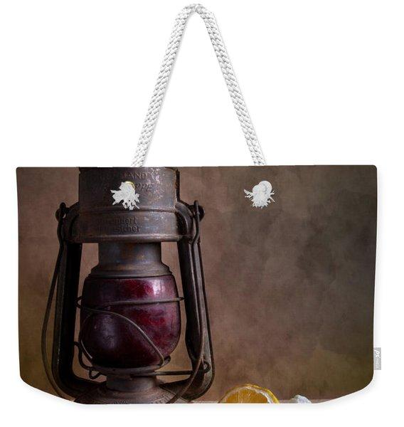Lamp And Fruits Weekender Tote Bag