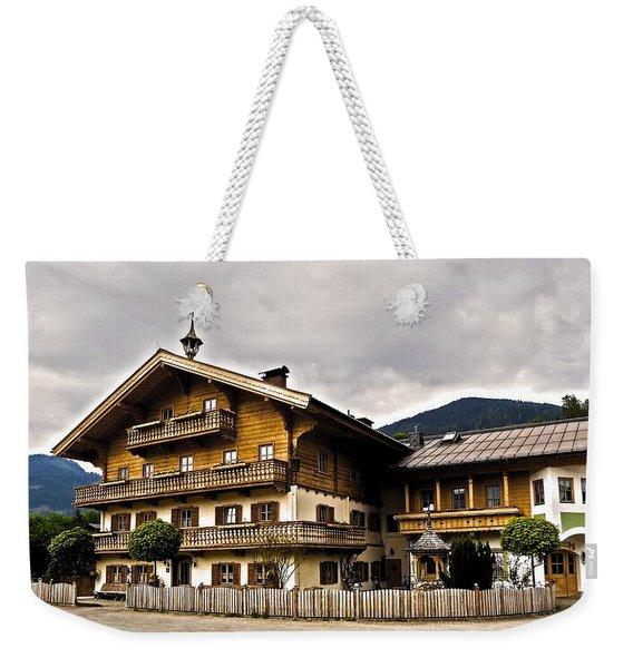 Landhaus Hofermuehle - Maria Alm  Weekender Tote Bag