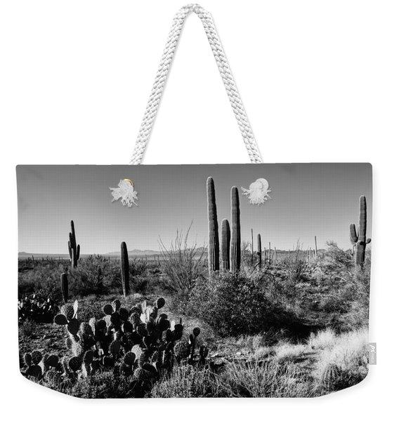 Late Winter Desert Weekender Tote Bag