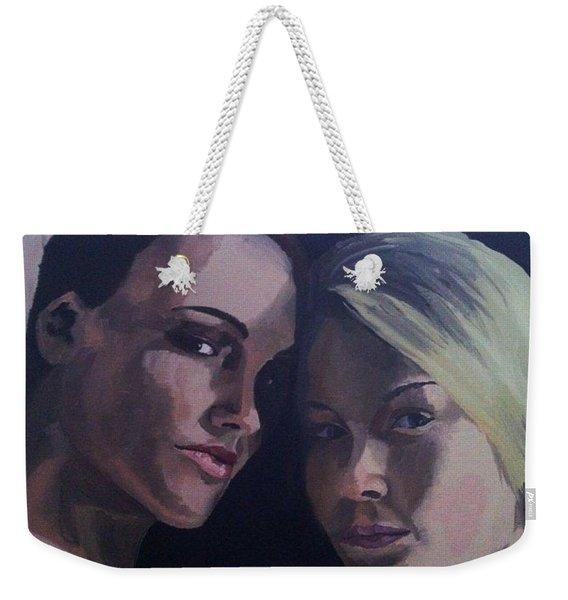 Leah And Tiffany Weekender Tote Bag