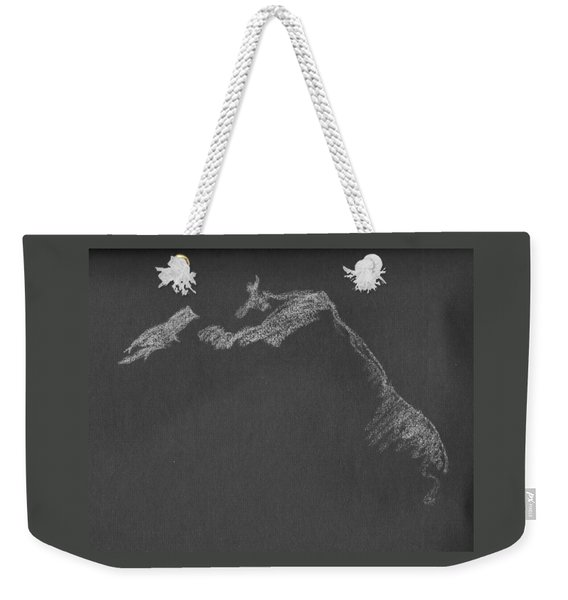 Leaning Weekender Tote Bag