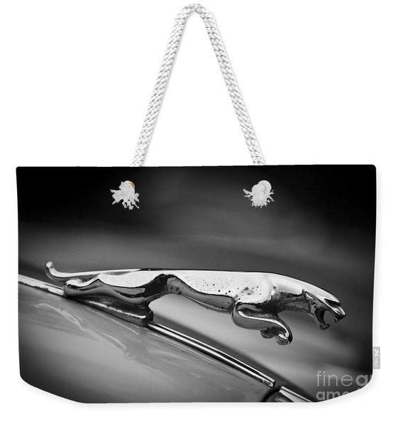 Leaping Jaguar Weekender Tote Bag