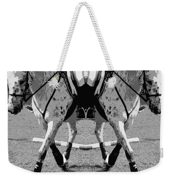 Left Or Right Weekender Tote Bag